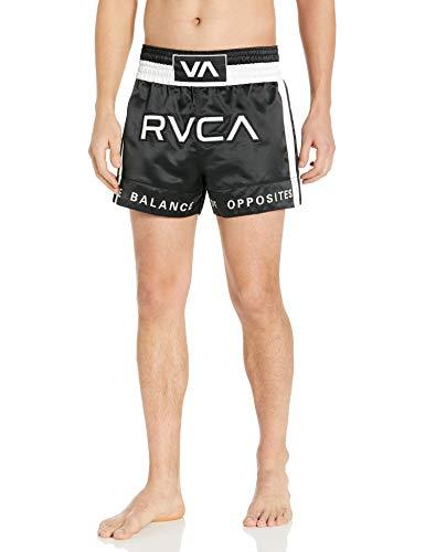 RVCA mens Rvca Muay Thai Shorts, Black, Large US