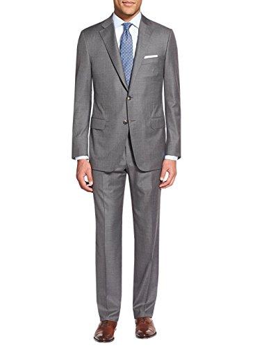 Salvatore Exte Men's Two Button 2 Piece Suit Notch Lapel Blazer Jacket