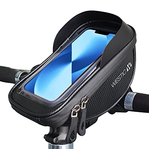 LT-19-Wasserdichte Fahrrad Lenkertasche für alle Smartphones unter 6,5 Zoll – Handyhalterung zur Befestigung am Lenker – Fahrradtasche optimal fürs Navi