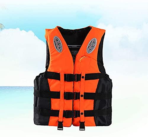 YZJL Chaquetas y Chalecos salvavidasKayak y Vela Ligera Chaqueta de natación para Adultos Chaleco de Impacto Chaleco de natación Flotante al Aire Libre Chaqueta de flotabilidad para Canoa
