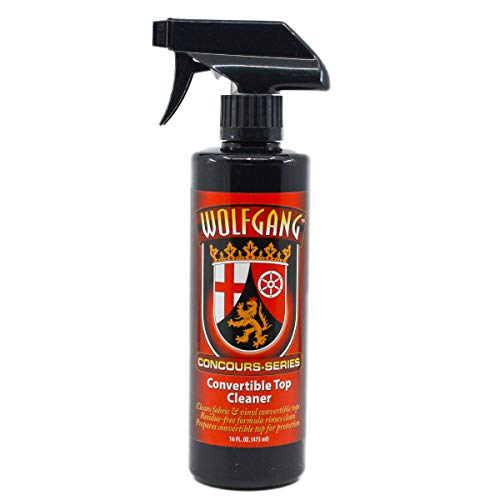 WOLFGANG CONCOURS SERIES WG-2650 Convertible Top Cleaner, 16 oz.