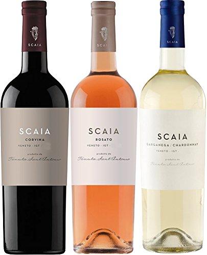 Scaia*Scaia*Scaia - Bianca/Rosato/Corvina - Tenuta Sant Antonio - 3er Paket