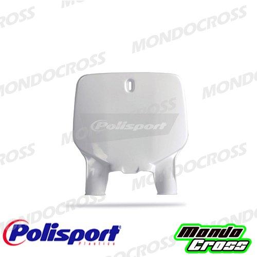 MONDOCROSS Tabella portanumero anteriore POLISPORT Bianco Colore OEM KAWASAKI KX 125 96-02 KX 250 96-02 KX 500 97-04
