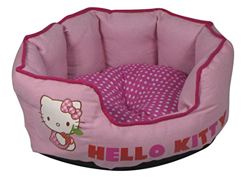 Hello Kitty Cama Mascotas, 44 cm, Color Rosa