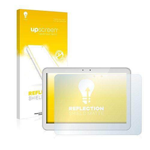 upscreen Entspiegelungs-Schutzfolie kompatibel mit Archos 101 Helium – Anti-Reflex Bildschirmschutz-Folie Matt