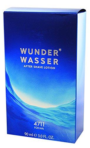 4711 Wunderwasser für Ihn homme/men, Aftershave Lotion 90 ml, 1er Pack (1 x 0.272 kg)