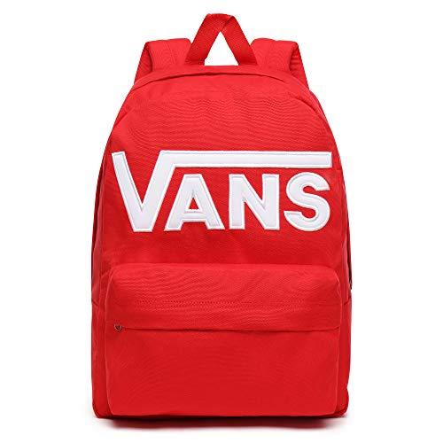 Vans Old Skool III Backpack VN0A3I6RIZQ; Unisex Backpack; VN0A3I6RIZQ; EU (UK), Racing Red,Einheitsgröße