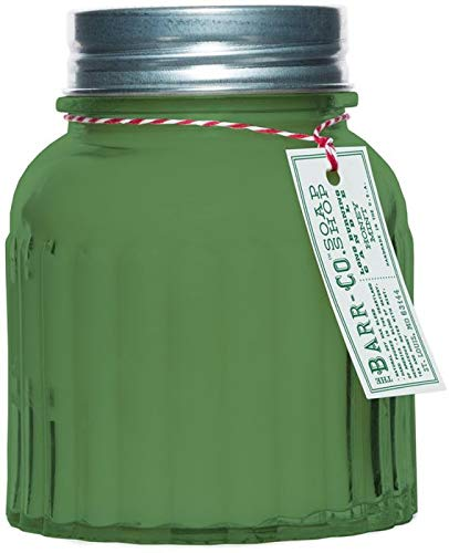 Barr Co Honey Mint Apothecary Jar Candle