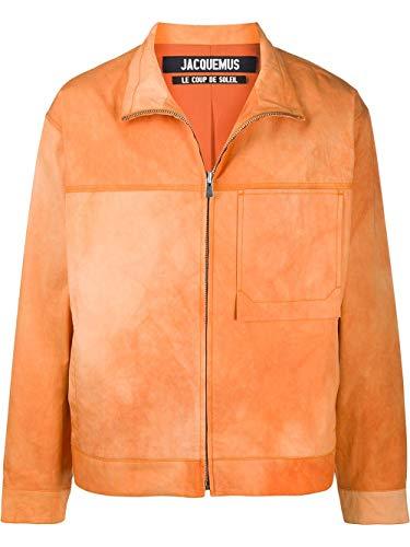 JACQUEMUS Fashion Mens 205BL0520513764 Oranje Bovenkleding Jas |