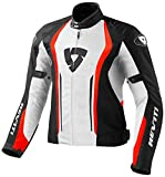 Giacca moto Rev'it Airforce Bianco Rosso XS