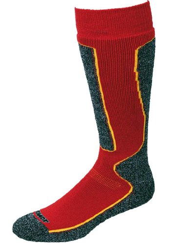 Meindl Winter Sock Größe 40-43 rot/schwarz