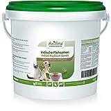 AniForte semi di psillio per cavalli, cani e gatti 1kg - Ricco di fibre e mucillagini, qualità di cibo crudo indiano, pulizia del tratto gastrointestinale, per il sovrappeso, mangime singolo