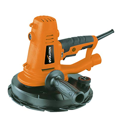 Evolution PONCEUSEDWSR7235A Portable Dry Wall Sander with Integrated Dust Extractor 1050W 240V, 1050 W, Orange, One Size