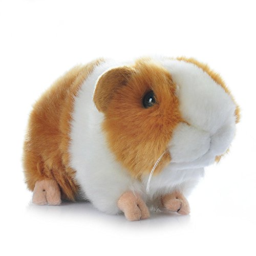 Cute rabbit 8 inch Guinea Pig Plush Toy Stuffed Animal Toy Plush Animal Doll (Orange)