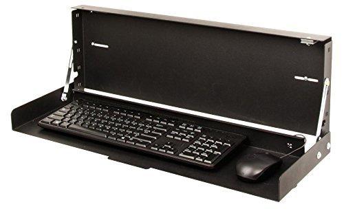 RackSolutions Full Keyboard Tray Wallmount Keyboard Tray for Full-Size Keyboards