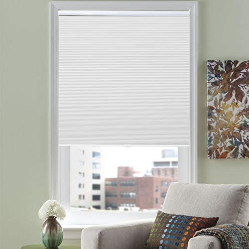 HOMEDEMO Blackout Cellular Shades Cordless Window Blinds and Room Darkening Shades, 46' W x 38' H,...