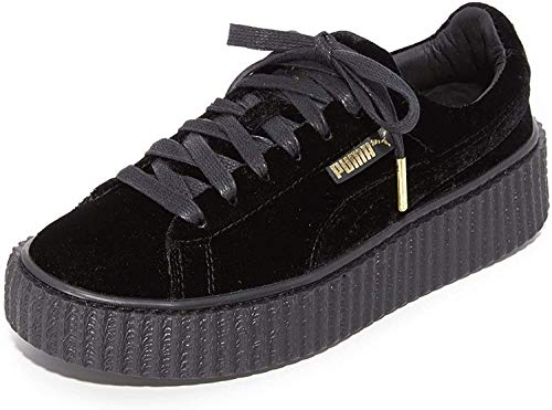 Puma Creeper Wrinkled Patent Fenty by Rihanna 501 (38.5, Black Patent)