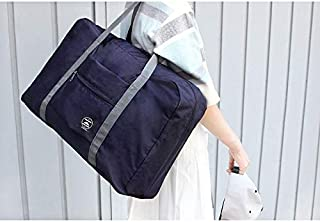 Leorealko Packable Travel Duffel Bag Foldable Waterproof Carry Storage Luggage Tote