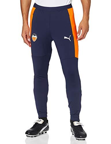 PUMA Valencia CF Temporada 2020/21-Training Pants w/Zip Pockets and zi Pantalón, Unisex, Peacoat White, XXL