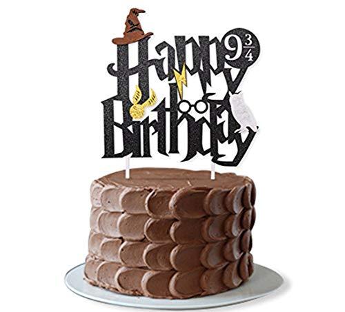 JeVenis Magier Kuchen Deko Zauberer Kuchen Dekoration für Jungen Geburtstag Dekorationen