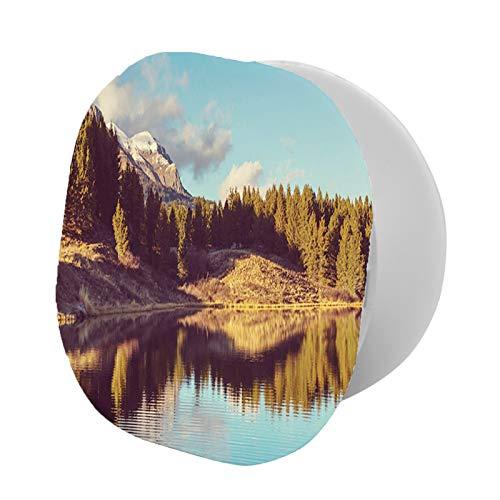 Soporte plegable para teléfono celular, pintoresco lago de la montaña en Colorado Rural de Estados Unidos, vista al parque nacional, soporte ajustable para teléfono móvil
