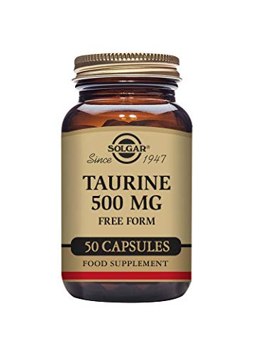 Solgar 500 mg Taurine Vegetable Capsules - Pack of 50