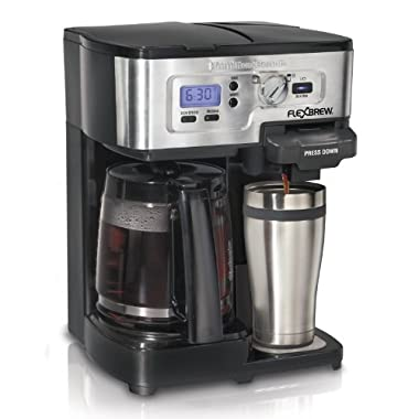 Hamilton Beach FlexBrew Single Serve & Full Pot Coffee Maker (49983A)