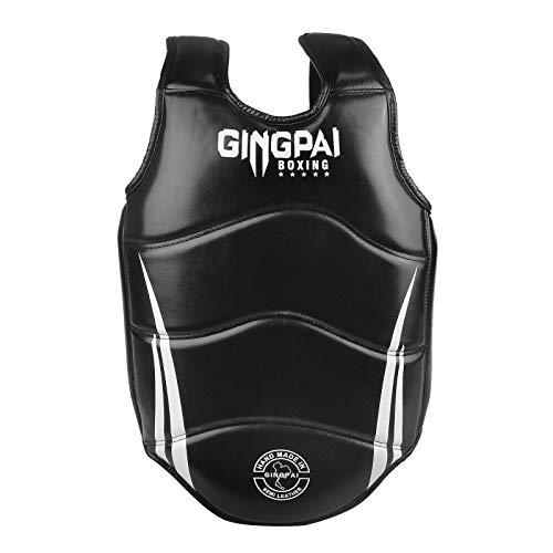Boxing Chest Guard MMA Martial Arts Rib Shield Armour, Solid Body Protector for Kickboxing Taekwondo Muay Thai Training