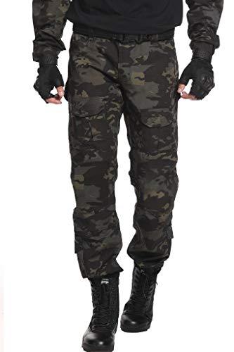 TRGPSG Men's Waterproof Hiking Pants,Scratch-Resistant...