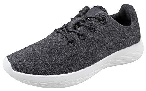 Urban Fox Mens Parker Wool Sneakers | Wool Shoes |...