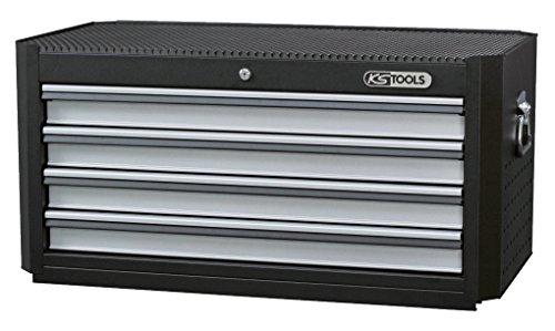 KS Tools 878.1014 MASTERline Werkstattwagenaufsatz XL, schwarz/silber