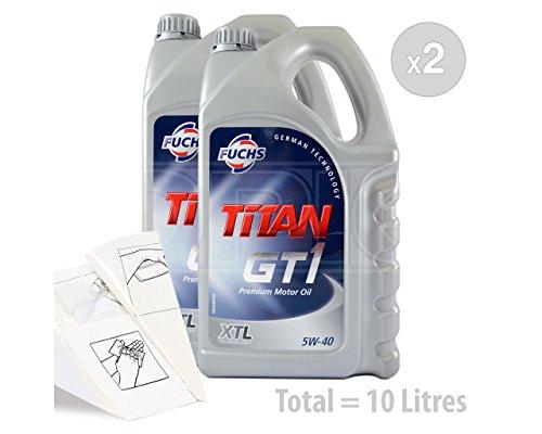 Fuchs TITAN GT1 XTL 5W-40 - Aceite sintético para motor (10 L)