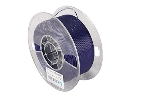 YS Filament YS-1.75-ABS-Gabu-1000 3D Filament mit genauer Durchmesserkontrolle, ABS, 1,75 mm, Gewirr frei, 1 kg, Galaxie Blau