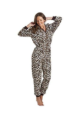 Camille de Leopardo Suave para Mujer Mono de Lana 46/48 Wild Leopard
