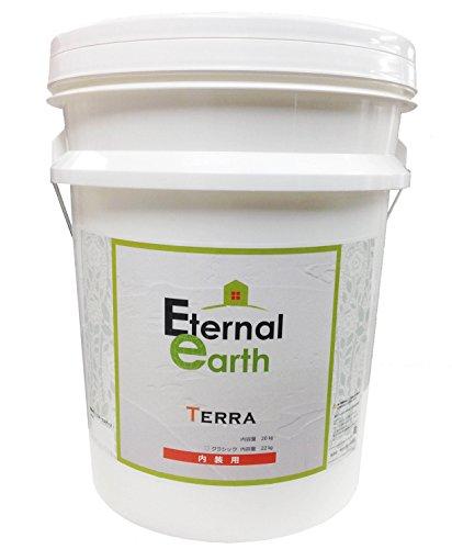 エターナルアース テラ 珪藻土塗り壁材 20kg缶 T-7