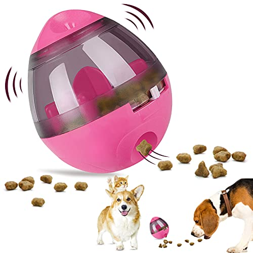 Swenter B07CZZZ9R9 1 Treat Ball Dog Toy for Pet Increases IQ Interactive...