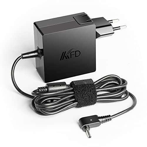 KFD 45W Ladekabel Netzteil Ladegerät für Acer Swift 3 SF314-52 W15-045N4B Aspire Switch Alpha 12 SA5-271 Switch SW312-31 Swift SF113-31 Spin 1 3 5 SP111-31 SP111-33 SP113-3 TravelMate B117-M 19V 2,37A