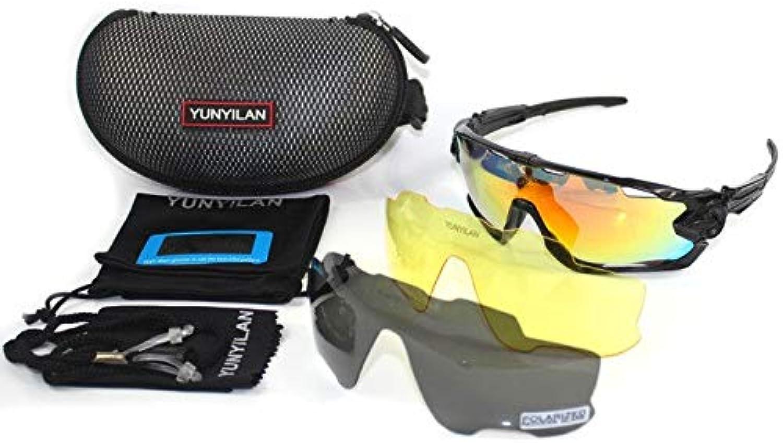 B15   Cycling Eyewear JBR 3 Pair Lens Polarized UV 400 Cycling Sunglasses Bicycle Glasses Tour De France Eyewear Sport Sunglasses