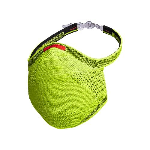 Máscara Esportiva Knit - Verde Limão Tamanho G, Fiber, Verde Limão