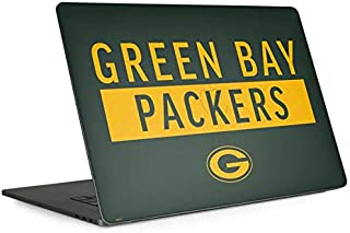 Skinit Decal Laptop Skin for MacBook Pro 13-inch with Touch Bar (2016-19) - Officially Licensed NFL Green Bay Packers Green Performance Series Design
