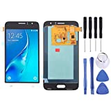 LISUHONG ZRXS Schermo Completo e digitalizzatore AYS LCD (Materiale OLED) for Galaxy J1 (2016), Express 3, Amp 2, J120F, J120A, J120H, J120M, J120M, J120T (Oro) (Color : White)