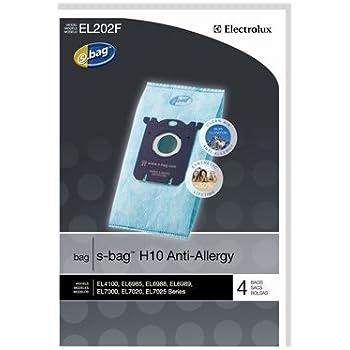 Genuine Electrolux Anti-Allergy s-bag EL202F (8 Bags)