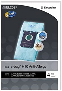 Genuine Electrolux Anti-Allergy s-bag EL202F (8 Bags)