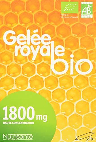 Nutrisanté Bio Gelée Royale 10 X 1800 Mg