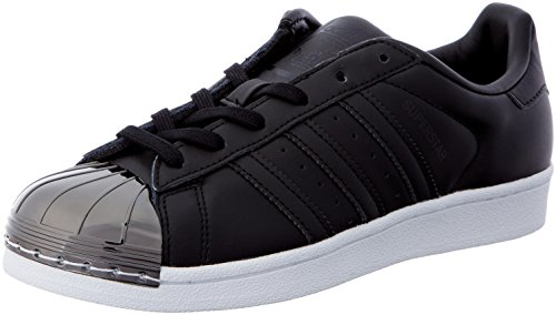 adidas, Superstar Metal Toe W BY2883, sneakers voor dames, zwart, maat 36 2/3 EU