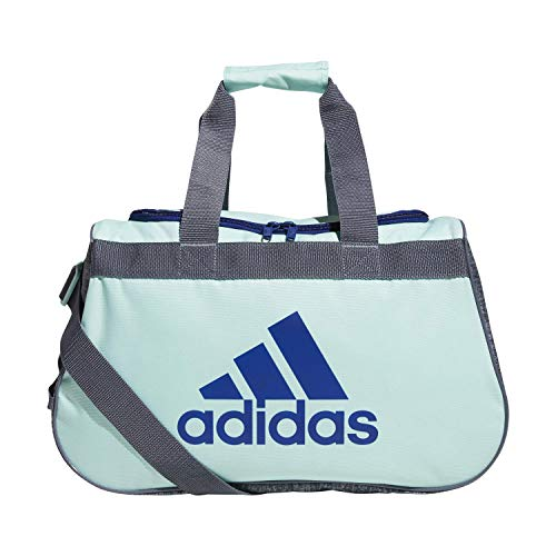 adidas Unisex Diablo Small Duffel Bag, Clear Mint Green/Mystery Ink Blue/Onix/ Onix Jerse, ONE SIZE