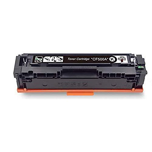 Toner CartridgeHigh Performance Recycling Compatible Hp Cf510a Color Toner Cartridge Hp Color Laserjet M154a / M154nw / M180 / 180n / M181 / M181fw Printer, Origineel Model size Zwart