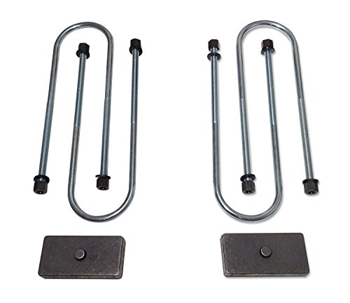 Tuff Country 97094 Axle Lift Block Kit 1 in. Rear Lift Incl. Lift Blocks U-Bolts Axle Lift Block Kit