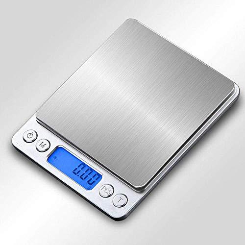 Keuken Thuis Multifunctionele Digitale Keukenweegschaal Precisie Voedsel Keuken Elektronische Weegschalen Huishoudelijke Kleine 0 01G Bakbalans Hoge Precisie Weegschaal Voedsel Digitale Weegschaal-1000G-0.1G