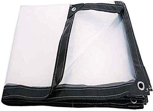 Barco de la Cubierta de 120 g/m² Cubierta, Lona Impermeable de plástico, 0,13 mm Resistente al Agua, Lona Protectora Muebles de jardín con el Amortiguador, Que se Utiliza for la Cubierta a Prueba de